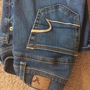 Brand new American eagle jeans. Size 0 short